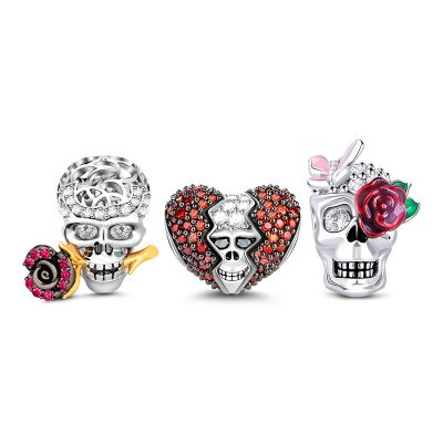 Cráneo con Rosa