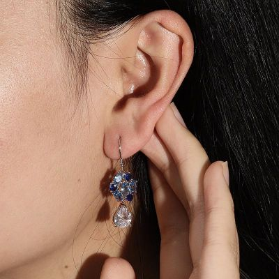 La Flor Azul Diamond Drop