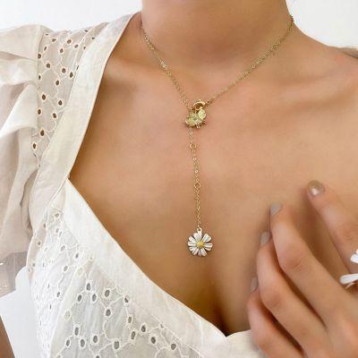 Collar Abeja Y Flor De Margarita