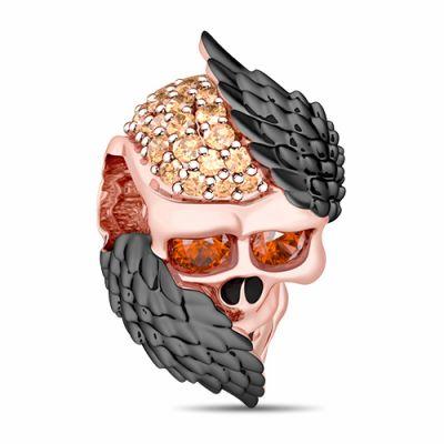Cráneo con Alas de Ángel