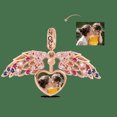 Colgante De Foto Personalizado De Corazón
